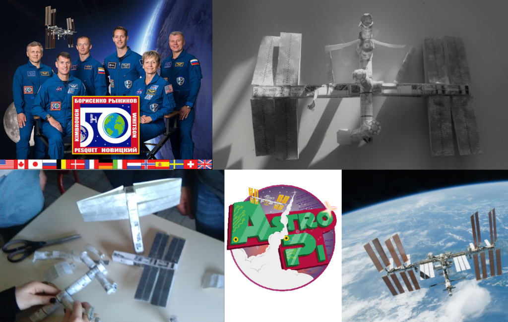 ISS maquette équipage