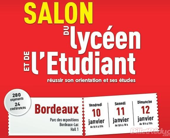 Salon de l tudiant lyc e fran ois mauriac for Salon de l etudiant bordeaux