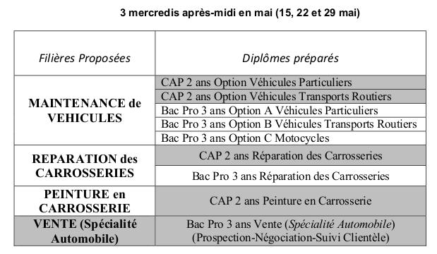 Liste Des Mini Stages 2018 2019 Lycee Francois Mauriac